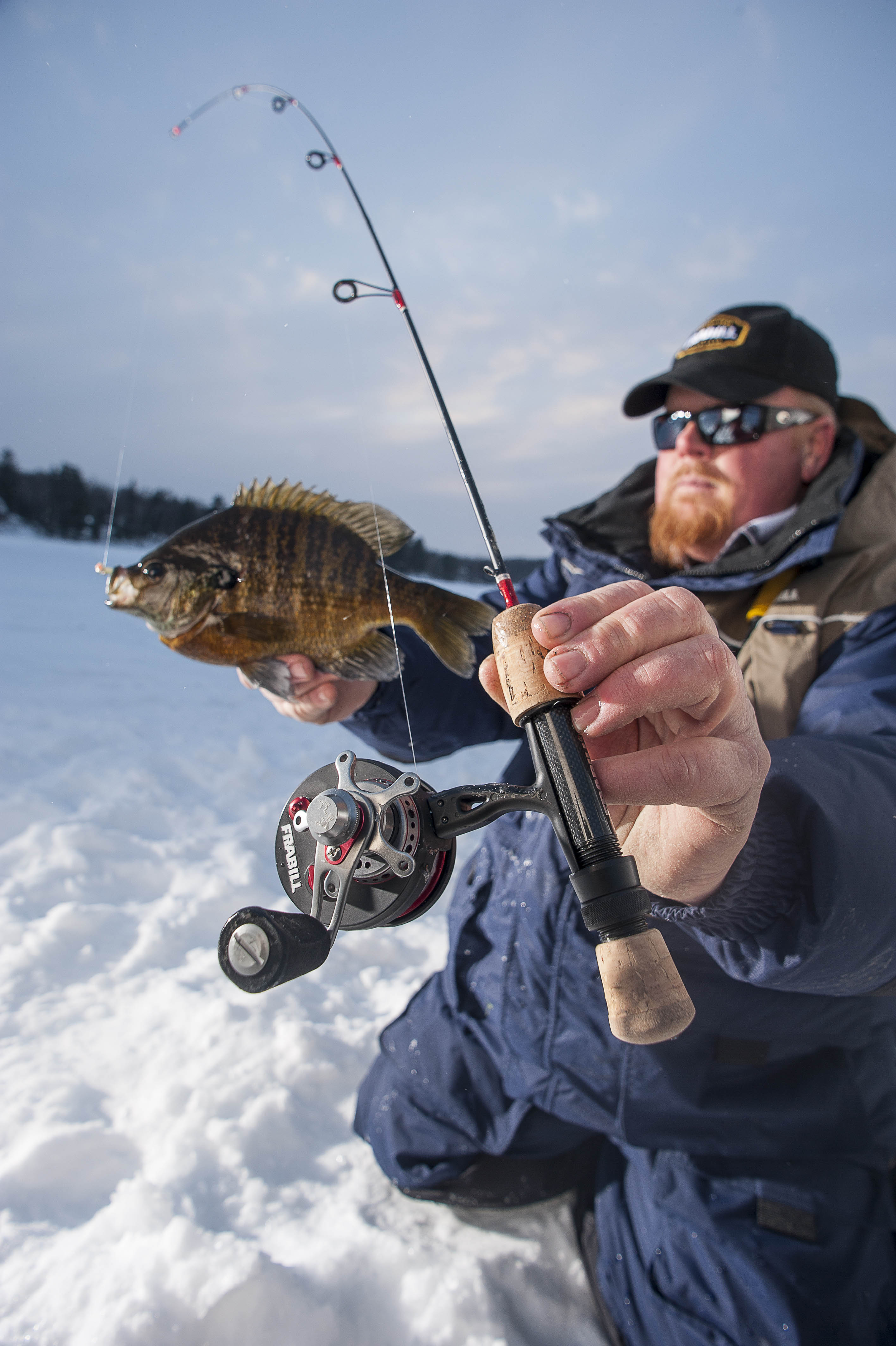 Prepping rods and reels for ice fishing plano synergy for In line ice fishing reel