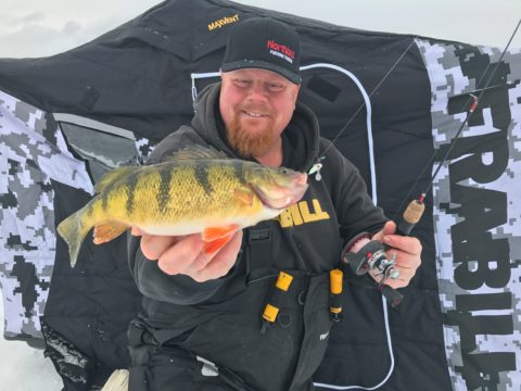 SideStep Ice Fishing Shelter is a Game-Changer