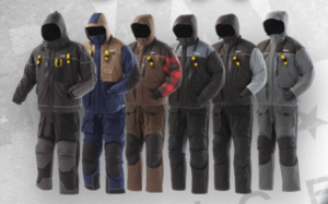 Frabill I-Series Suit Lineup