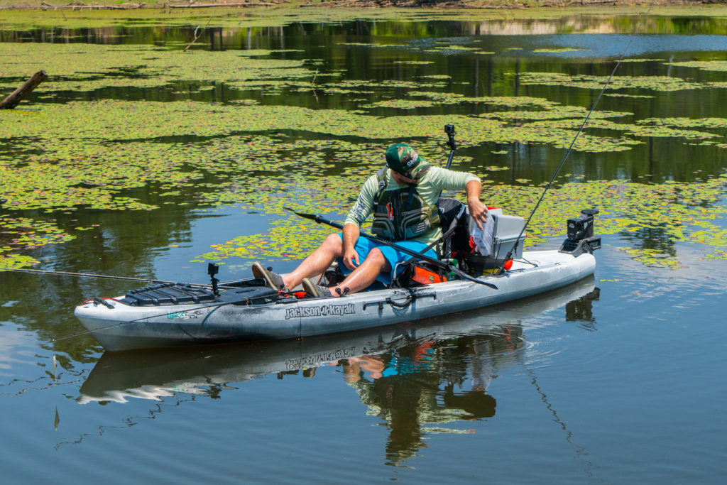 I use the Plano V-Crate to maximize storage space in my kayak.