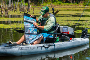 The Plano Z-Series Wrap is the solution I was looking for to organize my soft plastics when kayak fishing.