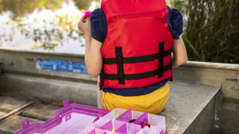 How to Choose a Kid's First Tackle Box