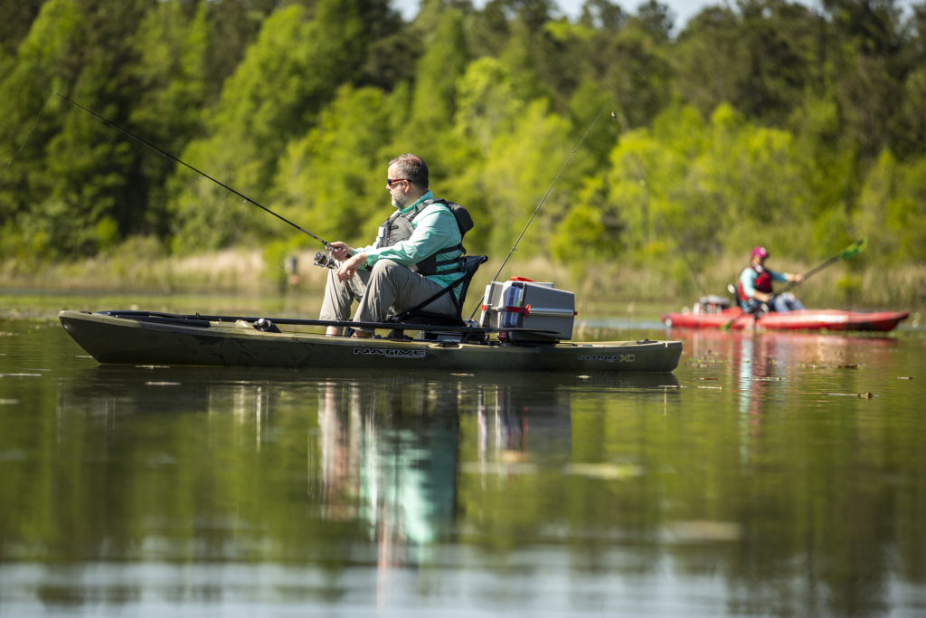 Being a responsible boater is important when kayak fishing, too.