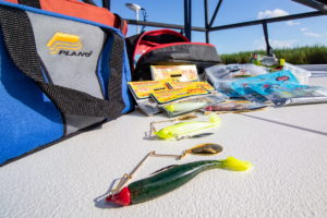 Traveling with a wide selection of lures to help you be prepared is never easy so finding a bag that can serve several purposes is a must.