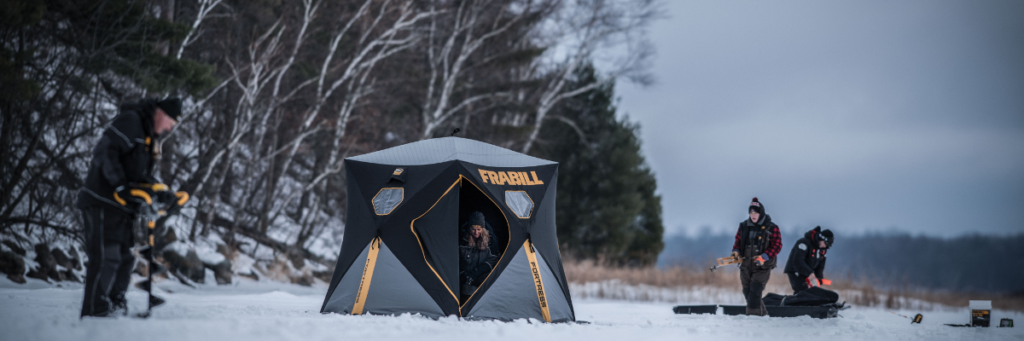 Hub shelters are durable, lightweight, easy to operate, and now they have more fishable space than ever before.