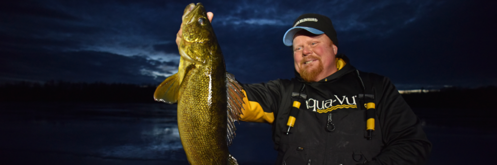 Early ice is a great time to get out for walleyes when they're active and biting just like they did in Fall.