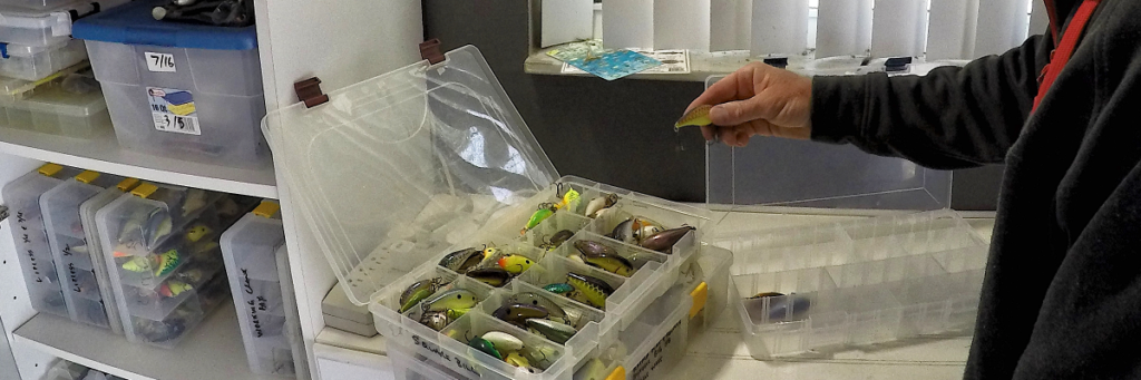 Organized tackle storage is one of the most important aspects of successful fishing.