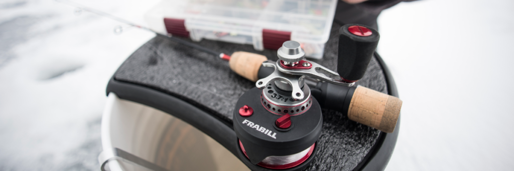 The Frabill Straight Line 371 is one of the most technologically advanced reels of its kind on the market today.